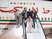 King Mohammed VI Arrives in Abuja for Official Visit to Nigeria