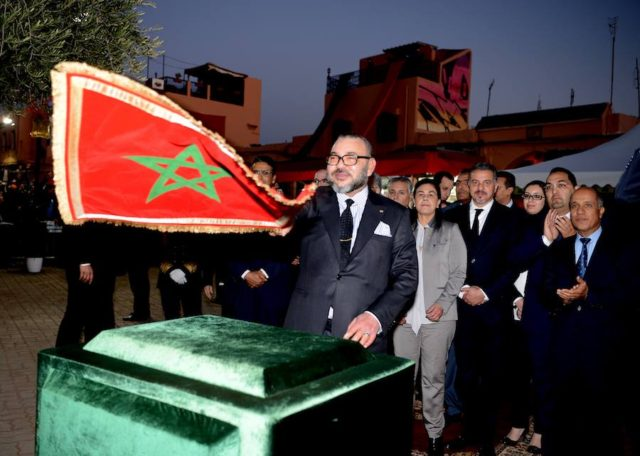 King Mohammed VI Launches Rehabilitation Projects in Marrakech's Old Medina