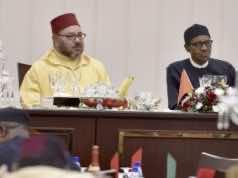 king mohammed vi and nigerian president muhammadu buhari