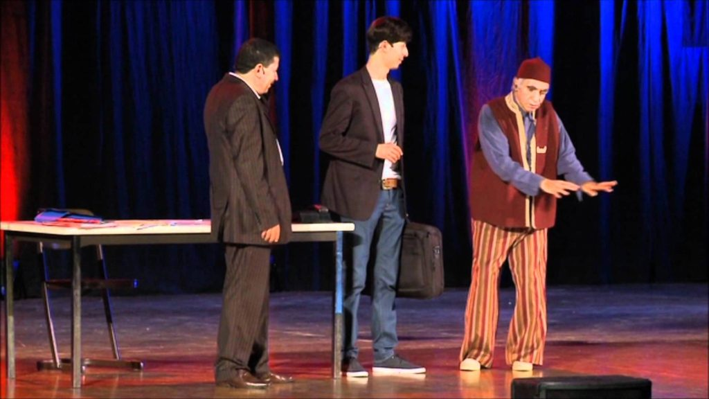 Moroccan Comedian 'Abderraouf' Honored at Marrakech Film Festival