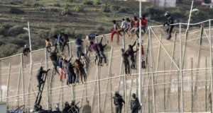 Morocco Foils Attempt of 400 Sub-Saharan Immigrants to Enter Ceuta