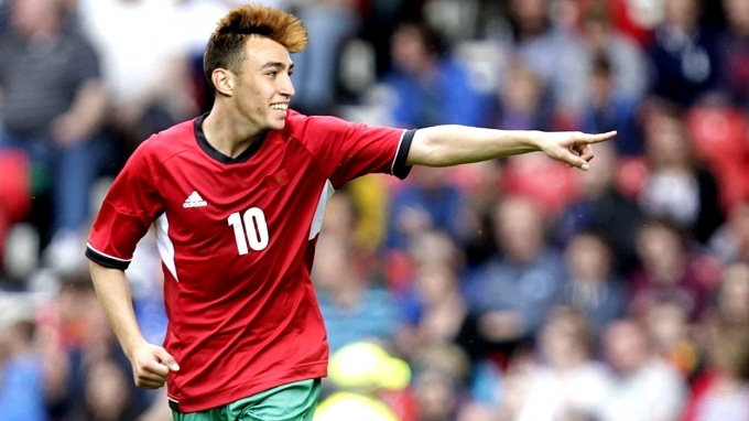 Valencia's Munir El Haddadi Wants to Join Moroccan National Football Team