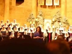 Muslim Girls' Choir in Beirut, Sings Christmas Carols During Mass