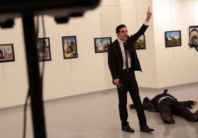 Russian Ambassador to Turkey Assassinated at Art Exhibit in Ankara