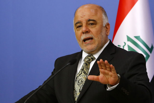 Security Forces Need Three Months to Eliminate ISIS: Iraqi PM
