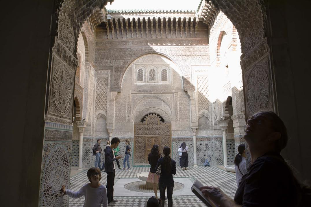The Bou Inania Madrassa in Fez. Photo by Omar Chennafi