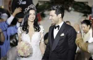 Video: Moroccan Actor Imane El-Bani &Turkish Actor Murat Yildirim Wed