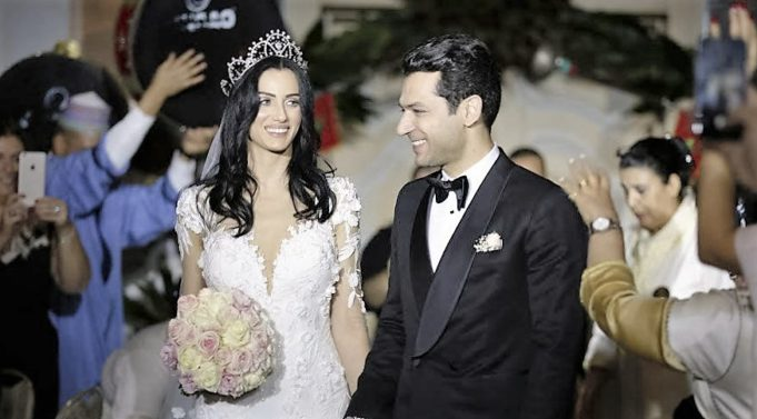 Video: Moroccan Actor Imane El-Bani &Turkish Actor Murat Yildirim Wed