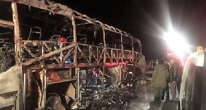 10 Killed, 22 Injured in a Bus Accident Near Agadir