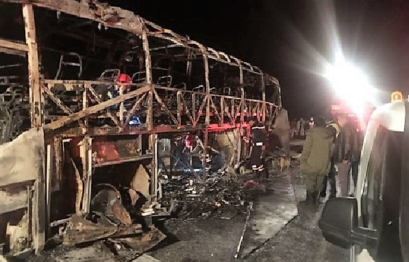 10 Killed, 22 Injured in a Bus Accident Near Agadir