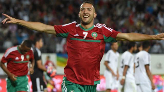 CAN 2017: Omar El Kadouri Replaces Injured Nordin Amrabat
