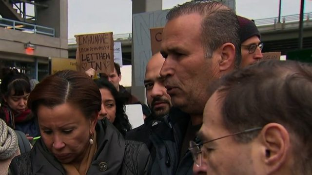 Detained Iraqi released from JFK airport