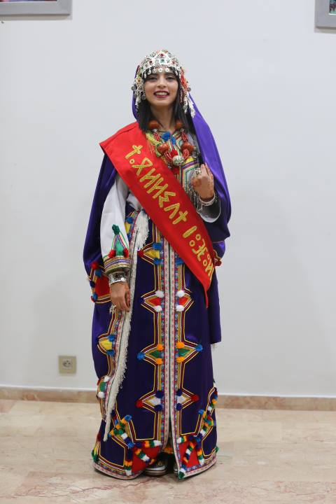 Hanane Oubella Crowned Miss Amazigh of 2017