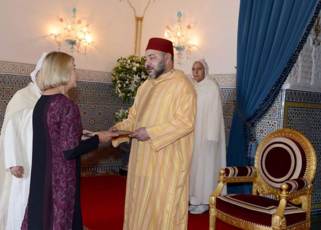 King Mohammed VI Receives in Marrakech Several Foreign Ambassadors