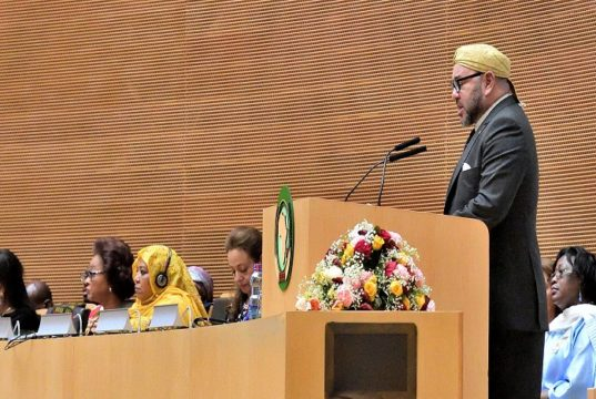 King Mohammed VI at the African Union Summit