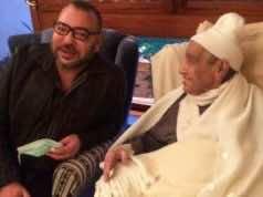 King Mohammed Visits Former Istiqlal Party Leader Mhamed Boucetta in Hospital