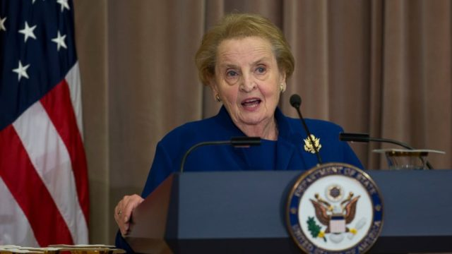 Madeleine Albrigh