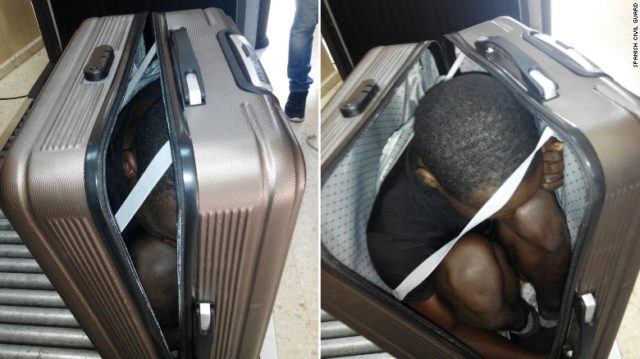Moroccan Woman Arrested Trying to Smuggle Sub-Saharan in Her Suitcase