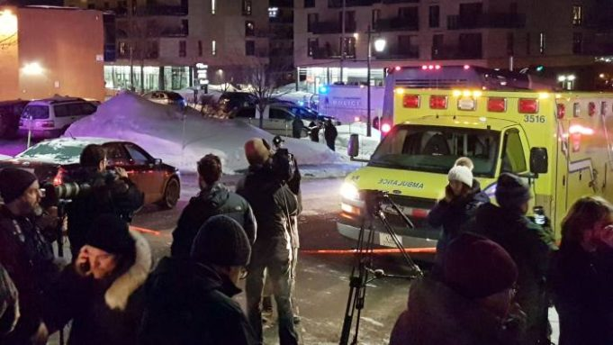 Mosque Shooting in Quebec
