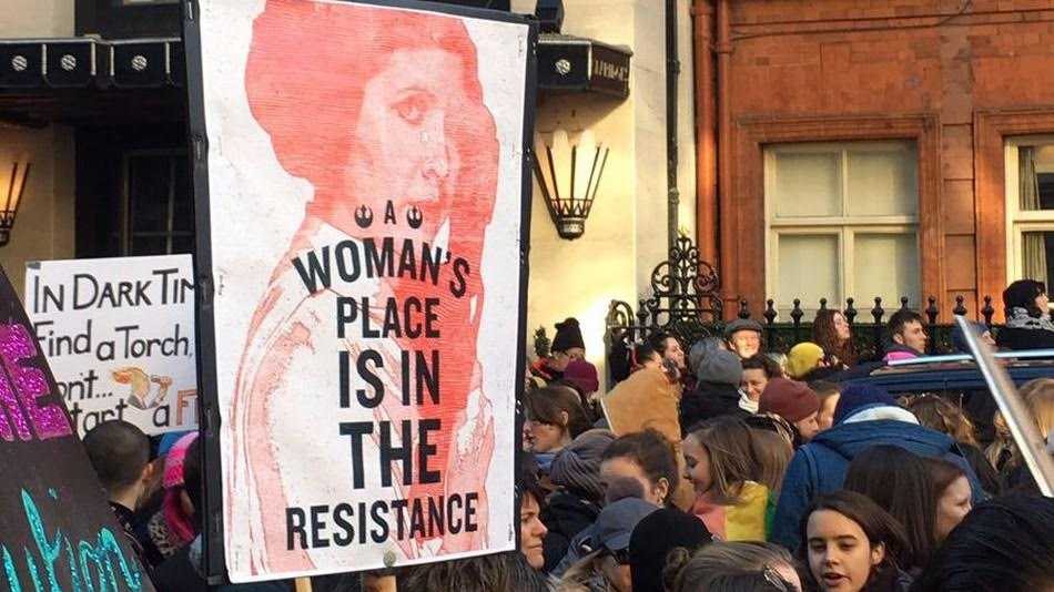 Signs, Signs, Everywhere are Signs: The Art of the Women's Global March