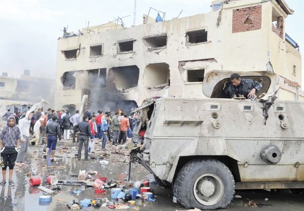 Suicide Truck Hits Egypt Security Post in Sinai, Killing 9
