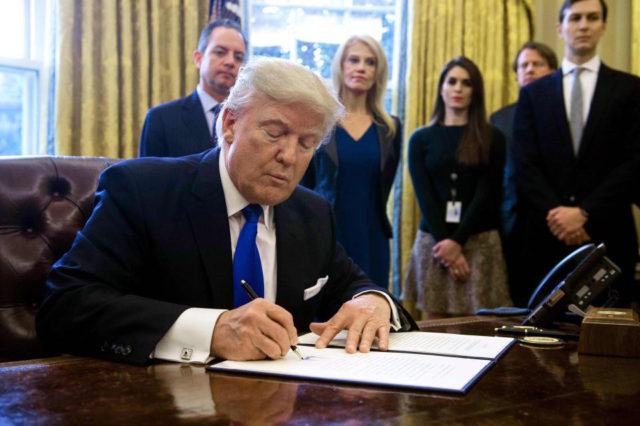 article president trump expected sign immigration executive order wednesday