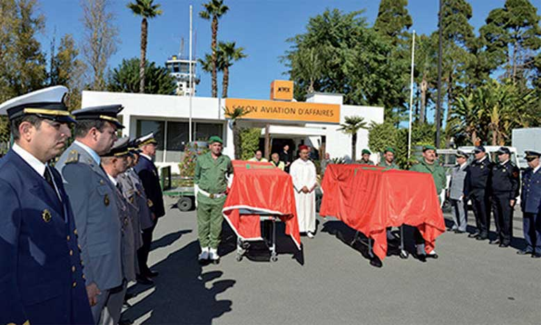 Two Moroccan Peacekeepers Of Minusca Receive Military Funeral Honors
