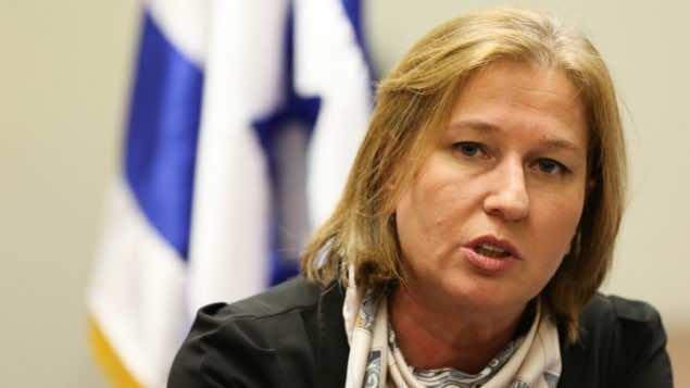 Tzipi Livni Cancels Visit to Belgium As She Facinges Possible Arrest