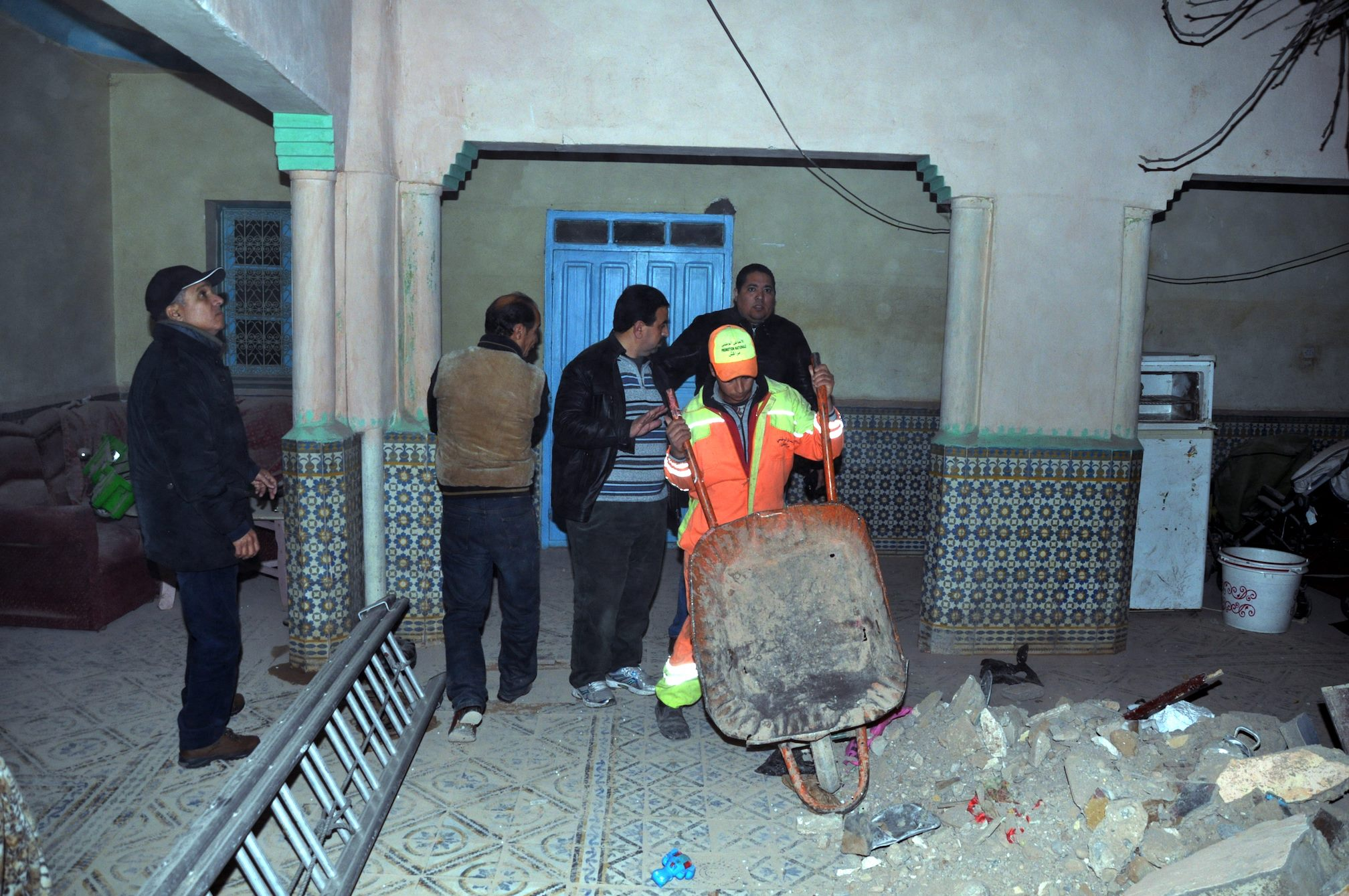A Family of Three Killed After House Collapse in Marrakech