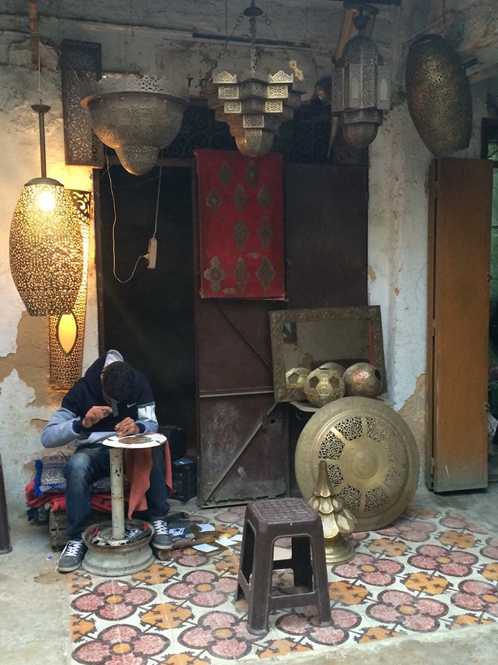Aging Master Etcher Continues His Trade in Fez