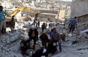 Air Strikes in Idlib, Syria Kill 26
