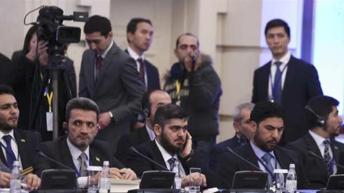 Astana Peace Talks Trigger Infighting among Rebel Opposition