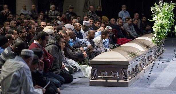 Azzedine Soufiane funeral
