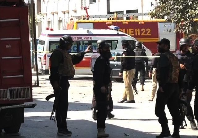 Breaking: Three Gunmen attack Government Building in Pakistan