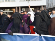 Casablanca Women Stage Sit-In Denouncing Burqa Ban