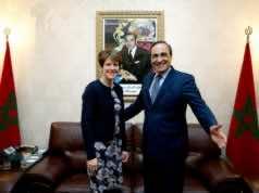 El Habib El Malki with British ambassador to Morocco, Karen Betts