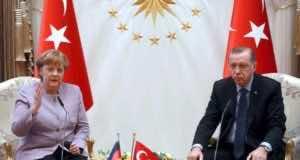 Erdogan Warns Merkel Against Using 'Islamic Terrorism'