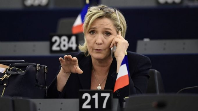 French Police Raid Le Pen's Offices for Alleged EU Fraud