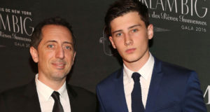 Gad Elmaleh's Son Walks at New York Fashion Week