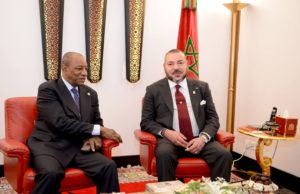 King Mohammed VI, Guinean Pres. Kick off Construction Works of New Mosque in Conakry