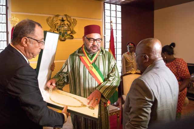 Ghanaian Pres. Offers Official Luncheon in Honor of King Mohammed VI
