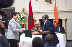 King Mohammed VI and Zambian President Sign19 Economic Partnership Agreements