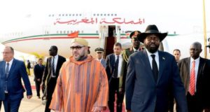 King Mohammed VI in Abuja, South Sudan