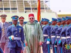 King Mohammed VI in Ghana