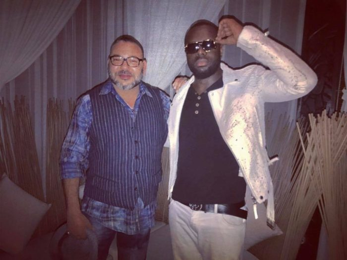 Photos of King Mohammed VI with Maitre Gims Go Viral