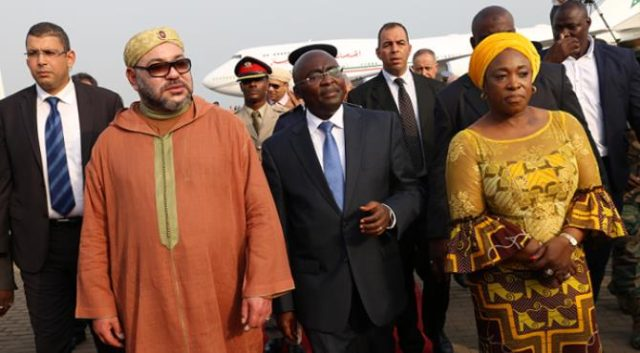 King Mohammed VI's in Ghana