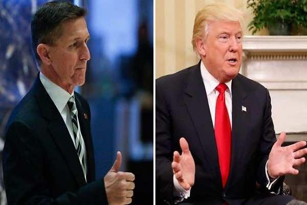 Michael Flynn and President Trump