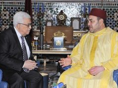 Mohammed VI with PalistenPresident Mahmoud Abbas