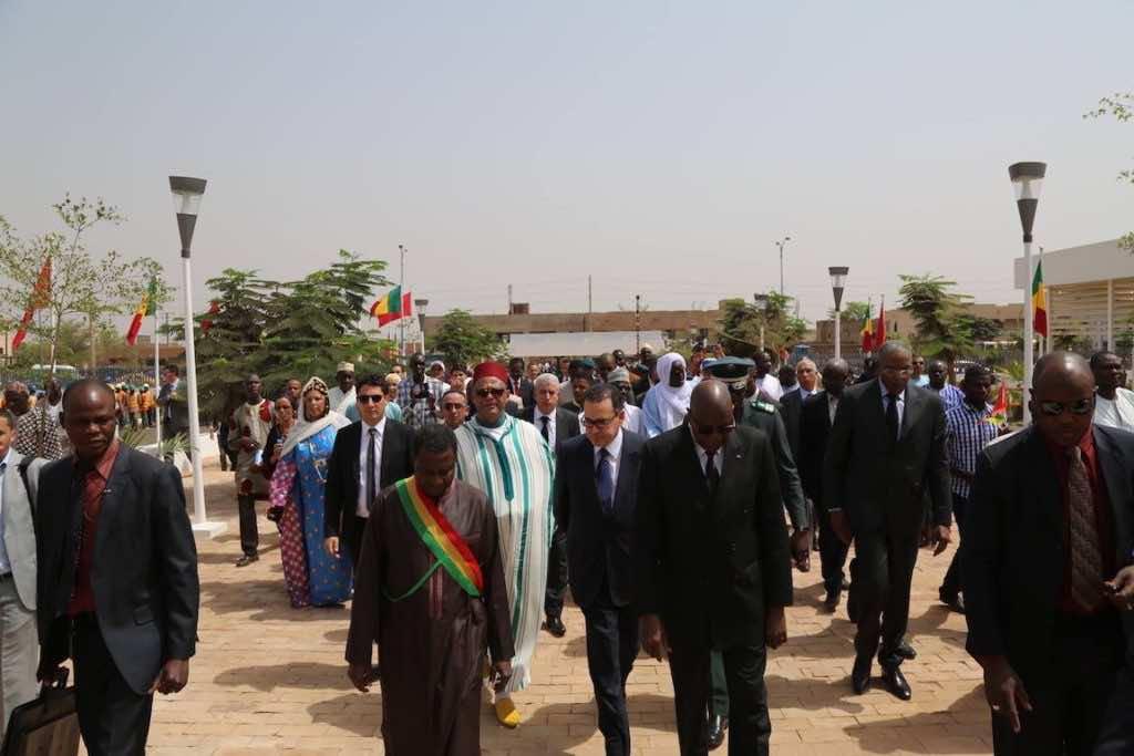 Moroccan Delegation Inaugurates in Bamako 'Mohammed VI Perinatal Clinic'