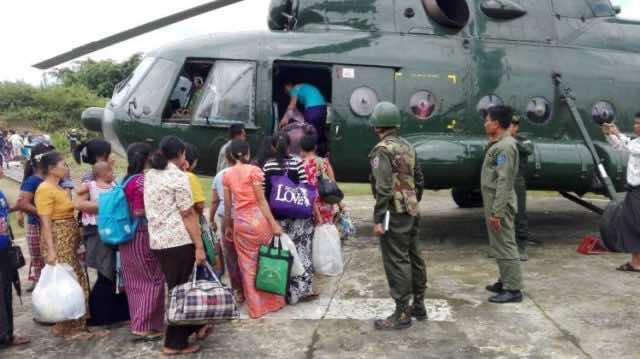 Myanmar Army Committing Genocide Against Rohingya Muslims